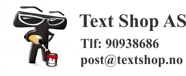 Text Shop AS